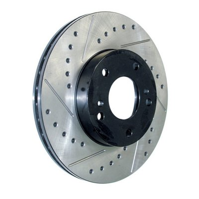Centric SportStop Cross Drilled and Slotted Brake Disc