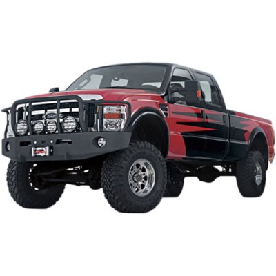 2011 2013 Dodge Ram 2500 Bumper   Warn Industries, Warn Heavy duty